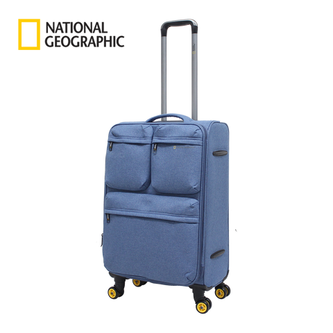 Blue soft luggage National Geographic medium