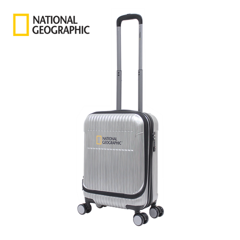 Hard trolley case with laptopcompartment Natgeo