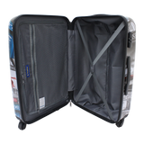 Printed luggage Saxoline | luggageandbagsstore.com