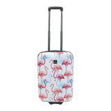 beautyful cabin trolley with flamingo print Saxoline | HK