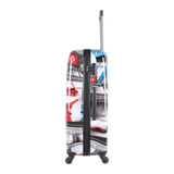 Saxoline hard luggage with Paris print in HK