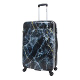 Printed hard luggage Saxoline with marble print | HK