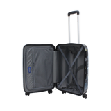 Saxoline hard luggage with print