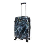 printed luggage Saxoline with marble print