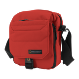red national geographic bag