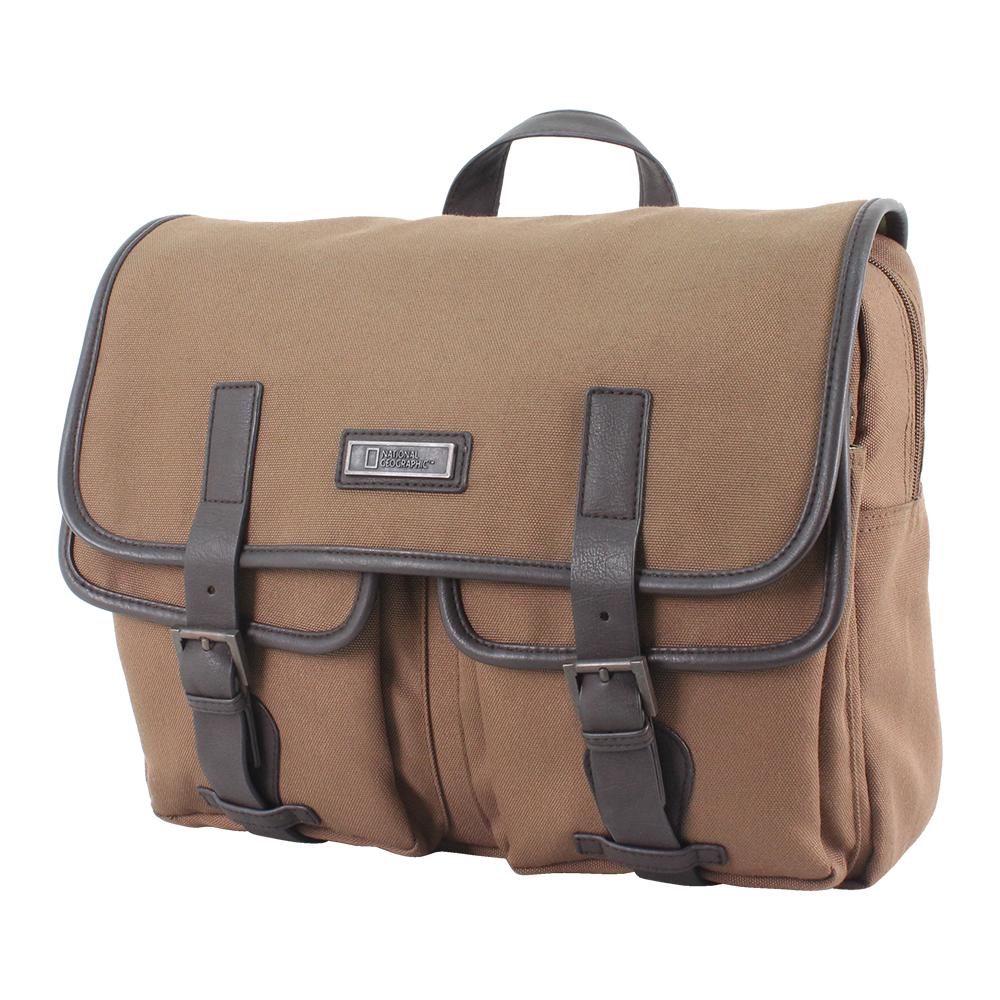 1d3f36b4cd National Geographic Colonial messenger bag made of brushed polyester. -  luggage and bag store