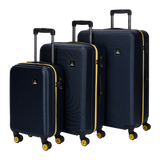 Black National Geographic luggage set