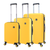 Yellow National Geographic luggage