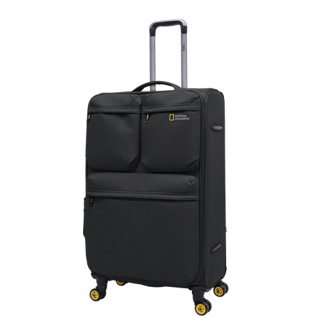 National Geographic soft luggage with 4 wheels.