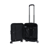 Silver national geographic hard trolley case
