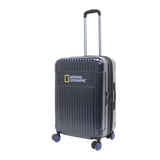Navy national geographic hard trolley case