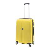 Yellow hard luggage of NatGeo | luggageandbagsstore.com