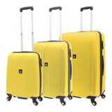 Yellow National Geographic suitcase set