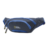 Navy waist bag of National Geographic