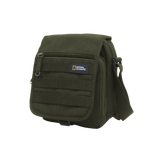 Nat Geo shoulder bags made of RPET