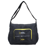 foldable shoulder bag from RPET