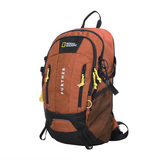 orange outdoor backpack from Nat Geo