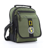 Nat Geo New Explorer Utility bag w/ flap and handle.