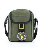 Khaki Nat Geo shoulder bag.