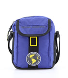 blue Nat Geo shoulder bag, utility bag