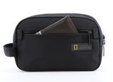 Nat Geo sustainable cosmetic bag