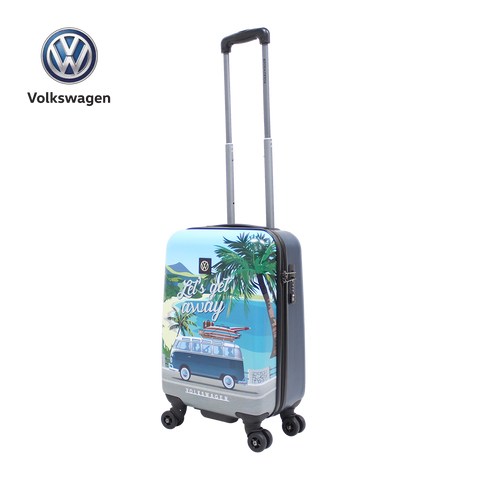 VW hand luggage with nice T1 print