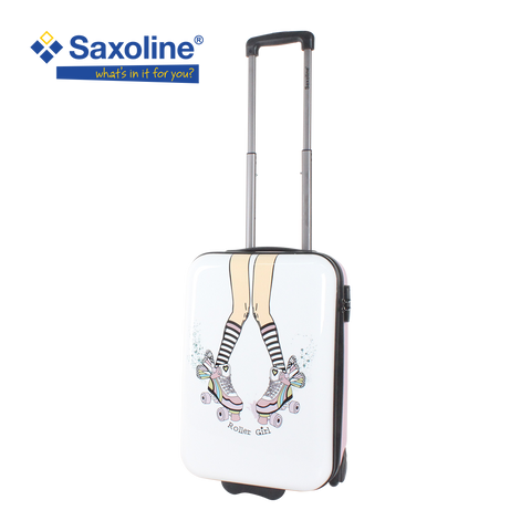 Printed Saxoline luggage for teens