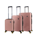 Rose Gold hard luggage Nat Geo in HK