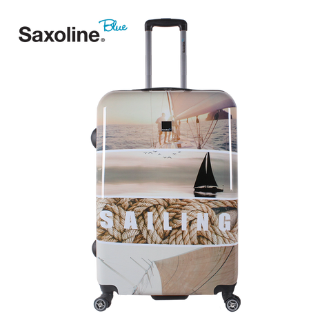 Beautiful printed luggage Saxoline