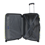 Saxoline printed luggage 3 years warranty
