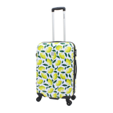 Printed Saxoline luggage with lemons
