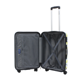 Printed Saxoline suitcases 3 years warranty