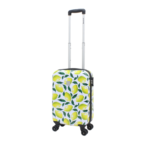 Saxoline suitcase S printed with Lemons