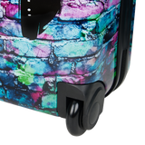 Printed hard luggage Saxoline with headphone print | HK