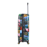 National Geographic hard case trolley with Thailand print