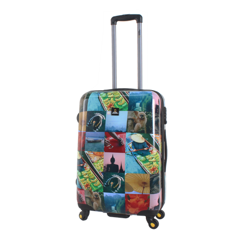 National Geographic hard case trolley | luggageandbagstore