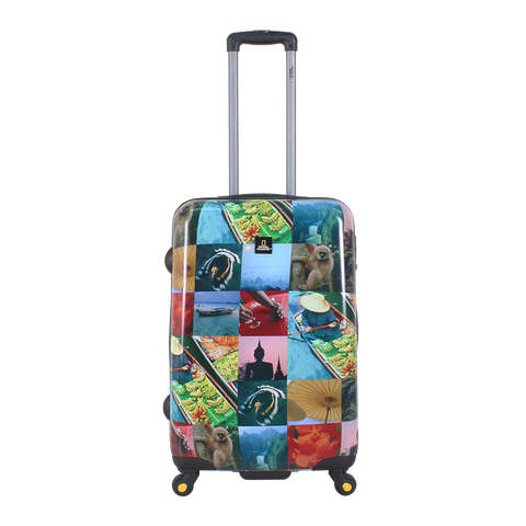 National Geographic printed luggage | Hong Kong