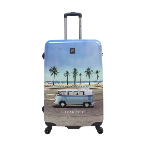 Printed VW hard luggage