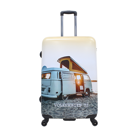 Volkswagen T2 printed luggage