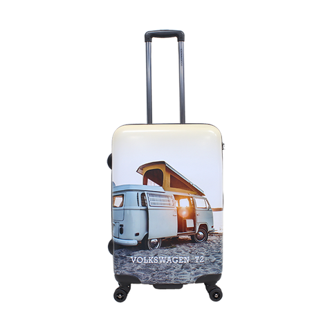 medium size hard Volkswagen luggage