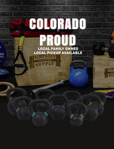 Simpsons Fitness Supply Colorado Proud