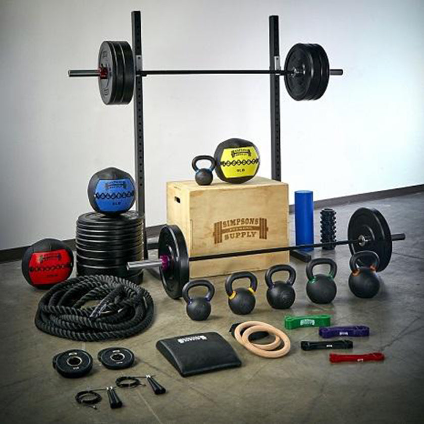 Garage gym packages gym equipment packages deals mo reps fitness