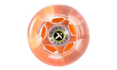 TriggerPoint Nano Foot Roller orange end view
