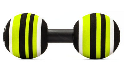 TriggerPoint MB2 Roller Black yellow white side view