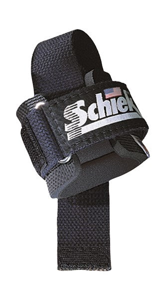 Schiek Powerlifting Straps - Black