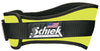 Schiek 2004 Weight Lifting Belt - Neon Yellow Simpsons Fitness Supply