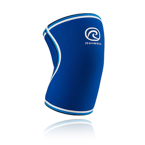 Rehband Knee Sleeve 7mm - Blue Line