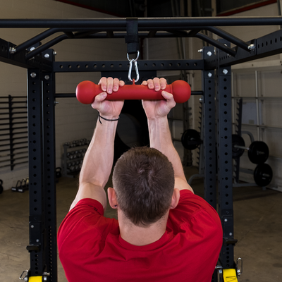Body Solid p reverse pull ups Colorado Simpsons Fitness Supply Pull-up Dog Bone Grip  Red
