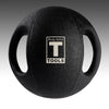 Body Solid dual grip medicine ball black rubber Simpsons Fitness Supply