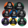 Body Solid medicine balls variety of colors rubber exercise ball Simpsons Fitness Supply